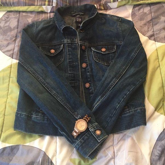 Denim jean jacket Denim Jean jack. In great condition very vintage like. GAP Jackets & Coats Jean Jackets
