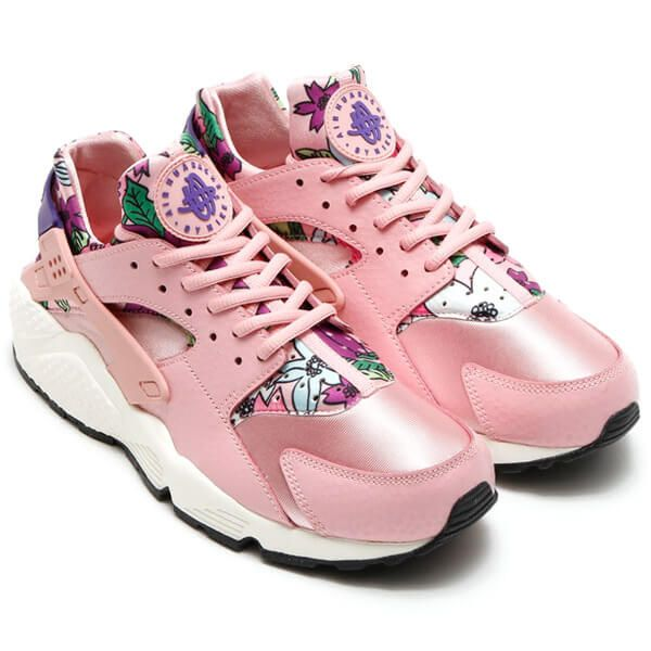 nike air huarache high pink