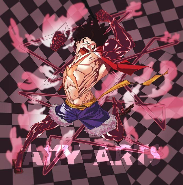 Monkey D Luffy Gear 4th Snakeman Luffy Gear 4 Luffy Man Wallpaper