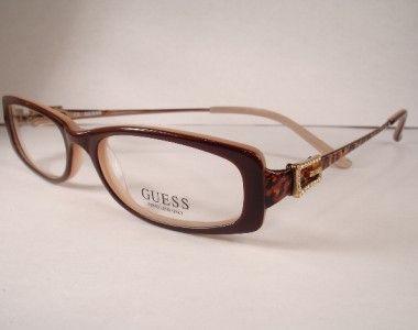 designer eyewear frames for women guess 1540 brown eyeglasses eyewear women new - Womens Designer Eyeglass Frames
