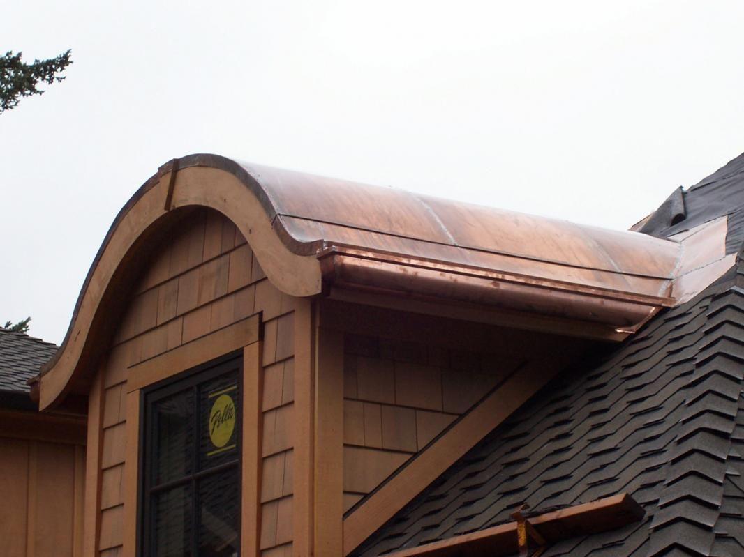 Schmeer Copper Roof Dormer Schmeer Sheet Metal Works Portland Oregon Copper Roof Metal Roof Corrugated Roofing