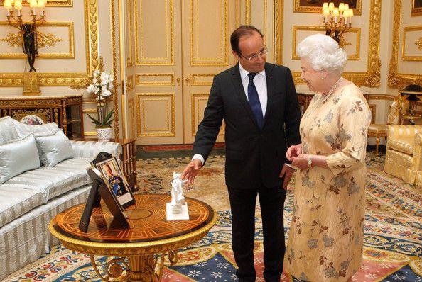 Queen Elizabeth Ii Photos Photos Queen Elizabeth Ii Meets French