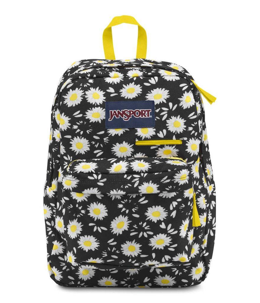 df20339664 Jansport Big Student Backpack Black Lucky Daisy- Fenix Toulouse Handball