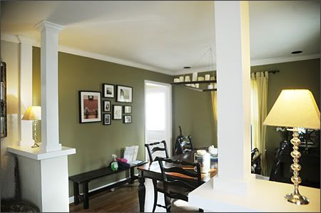 Installing A Half Wall Knee Wall To Separate Living And Dining Ideas For The House