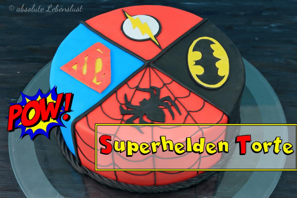 Superhelden Torte Backen Torten Backen Spiderman Kuchen Batman
