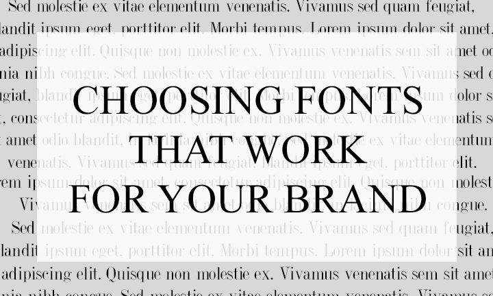 Alright folks, let's talk fonts. Fonts drastically effect how your branding presents itself and it can be really daunting to find quality fonts that express your branding, but never fear! I'm going to recommend a few great font sites that you can peruse, as well as some standard fonts that would work really well if …