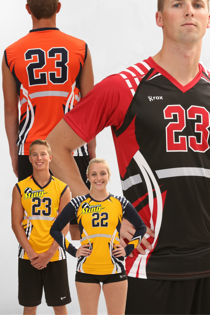 The Vertigo Fully Customized Sublimated Volleyball Jersey Offered In A Mens And Women S Version Beach Volleyball Bikinis Volleyball Outfits Volleyball