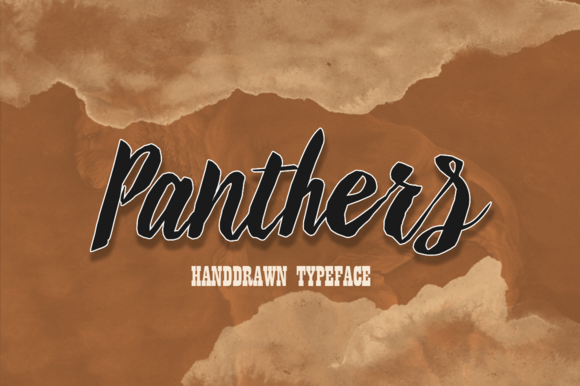 Download Panthers 25% off by alqawoms on Creative Market | Font ...