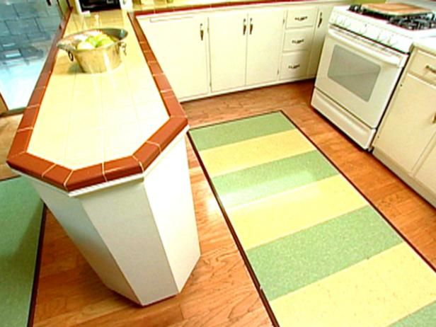 Learn How To Make An Area Rug From Linoleum Tile Protect Hardwood Floors This