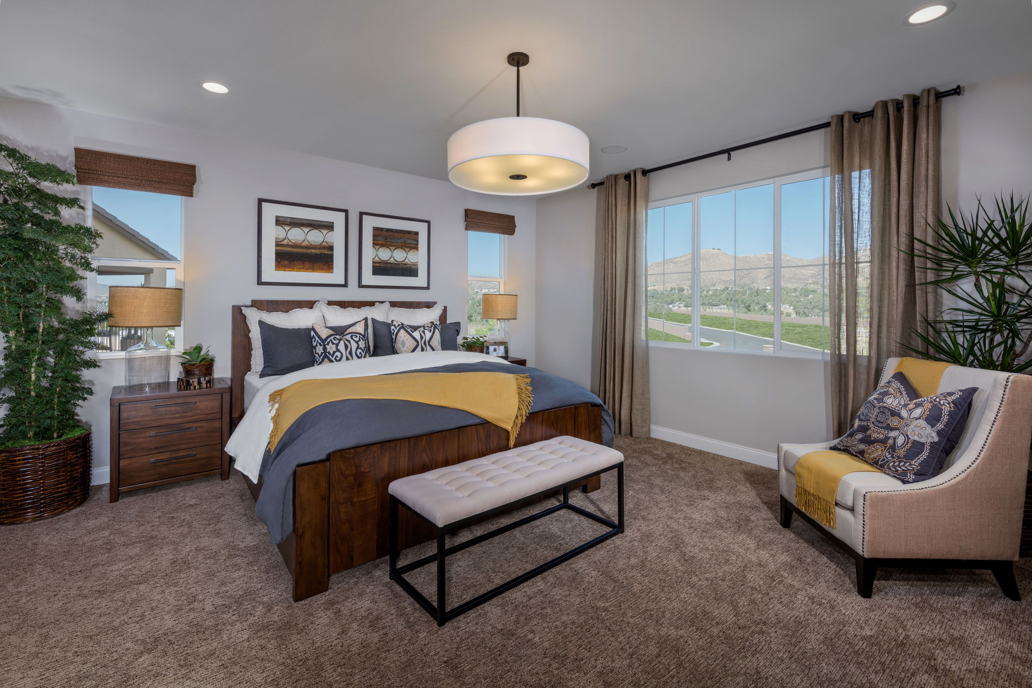 Residence 2 Master Bedroom New homes for sale, New homes