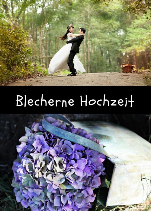 Blecherne Hochzeit Ist Ein Paar Acht Jahre Lang Verheiratet So
