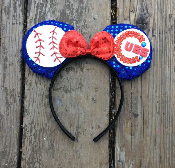 Chicago Cubs Mickey Ears