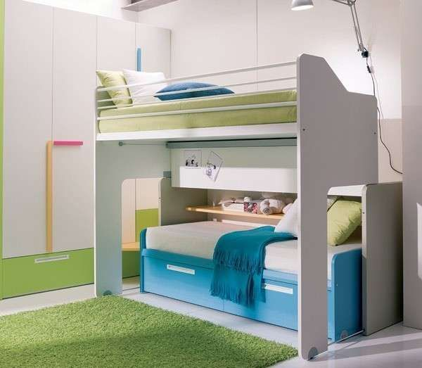 Letti a castello a scomparsa in 2019 | Kids bedroom designs ...
