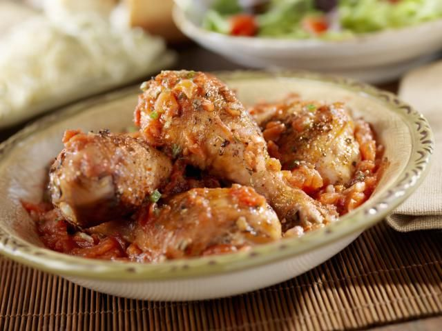 A Simple, Low-Carb Recipe for Crock Pot Chicken Cacciatore: Crock Pot Chicken Cacciatore