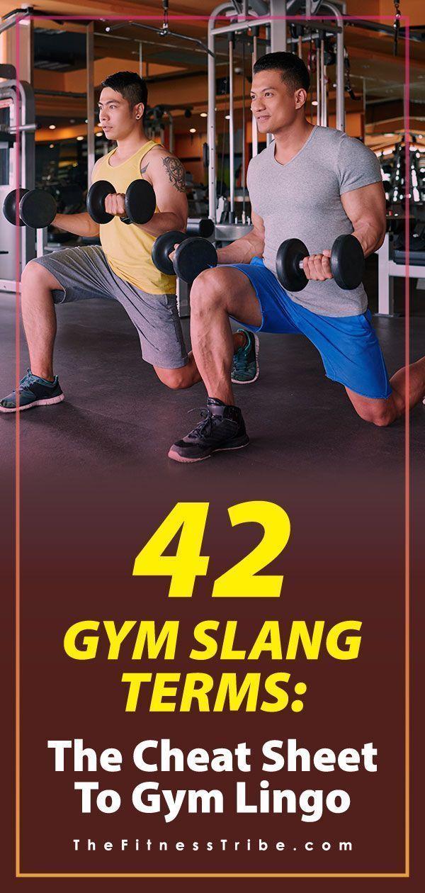 42 Gym Slang Begriffe: Der Spickzettel zu Gym Lingo - The Fitness Tribe #Gymlingo # ...   - Get Fit!...