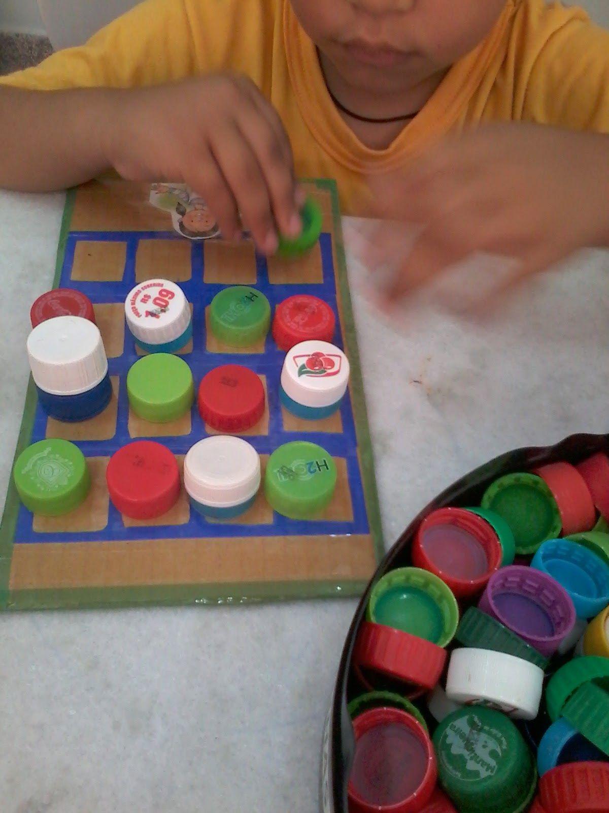 Pranchas para o trabalho com sequenciação! Aqui priorizamos as cores e utilizamos tampinhas!