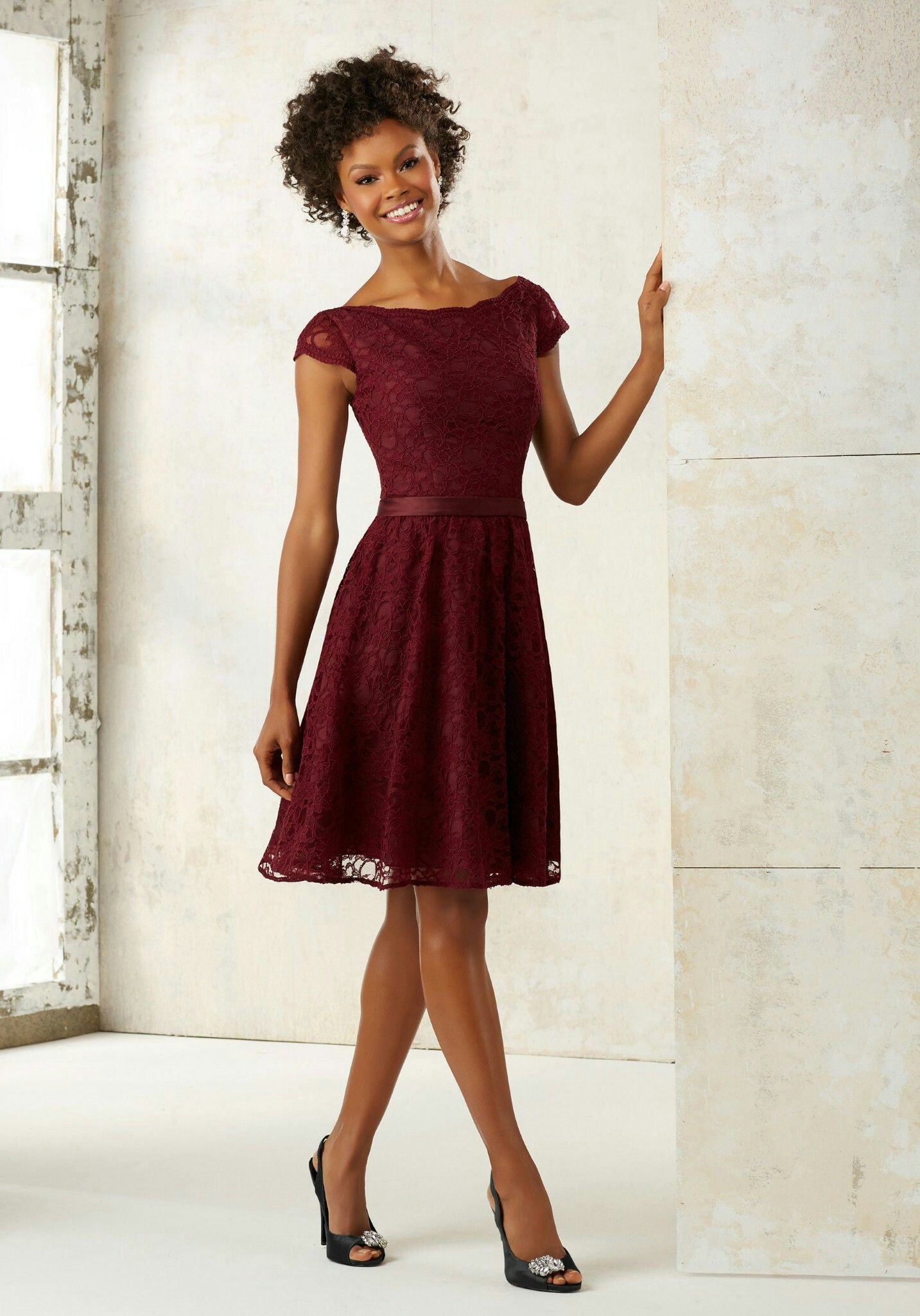 Mori lee bridesmaid dress 21518 in bordeaux dresses pinterest mori lee bridesmaid dress 21518 in bordeaux ombrellifo Image collections