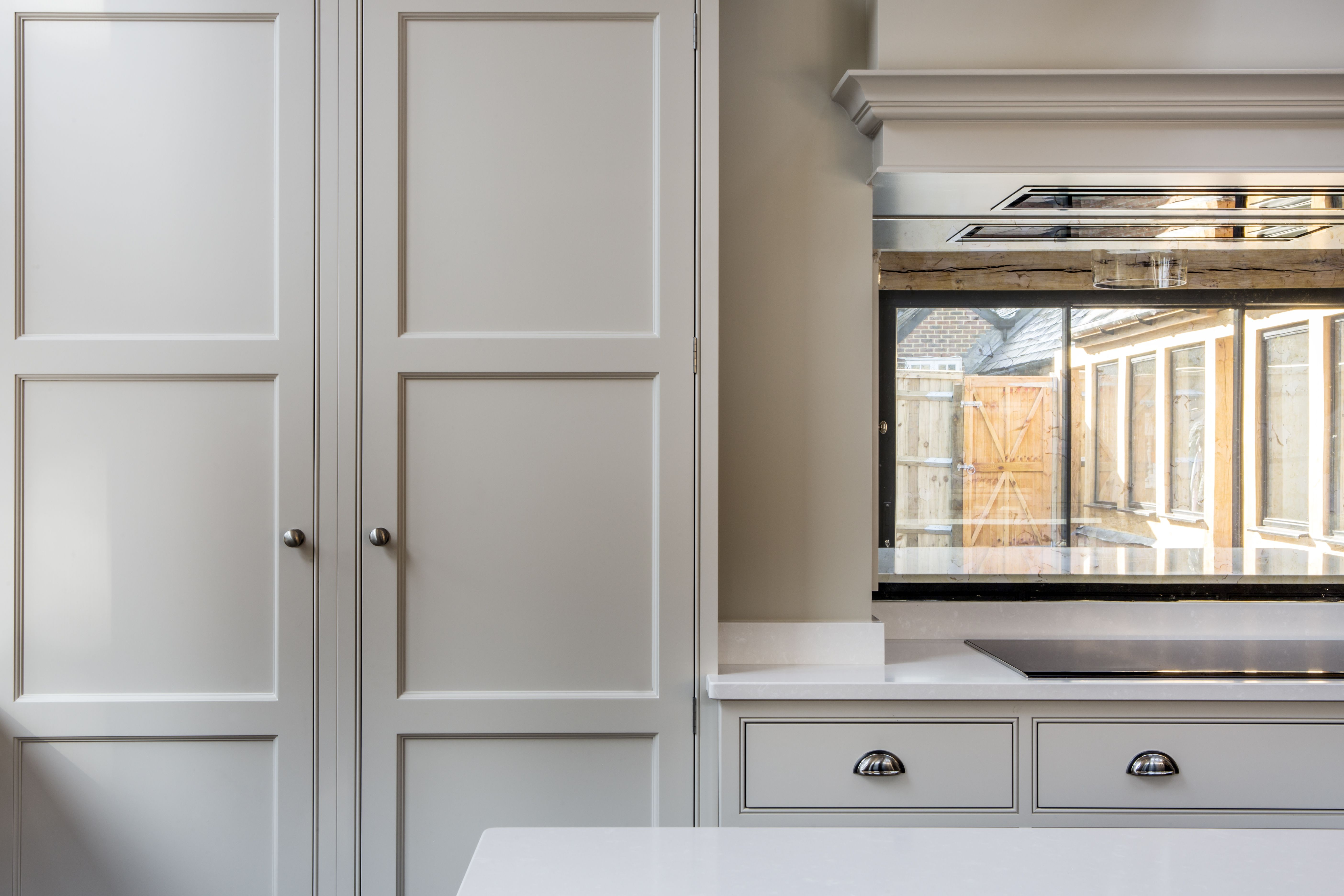 Beaded shaker doors on our classic Shaker kitchen in 2020 ...