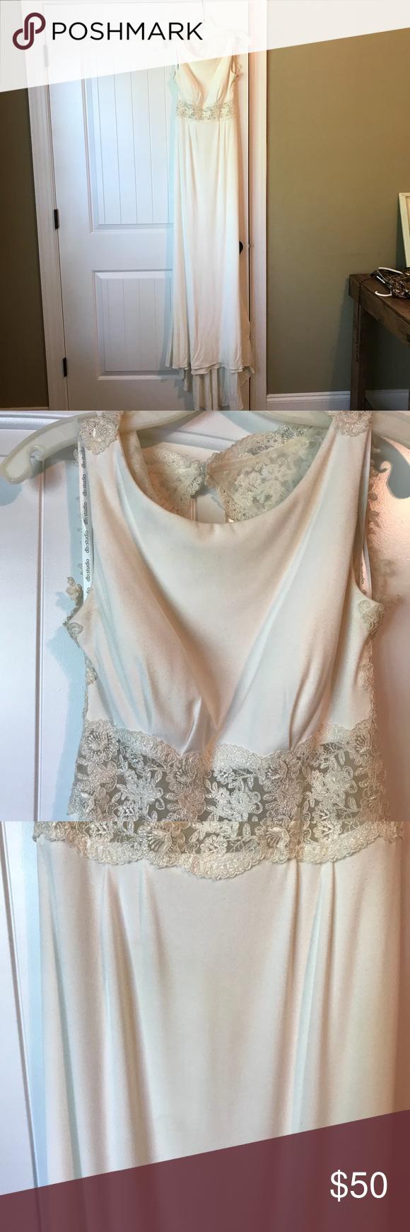 Wedding dress dry cleaning near me  Wedding Dress Dress worn with slight spray tan stains on dress