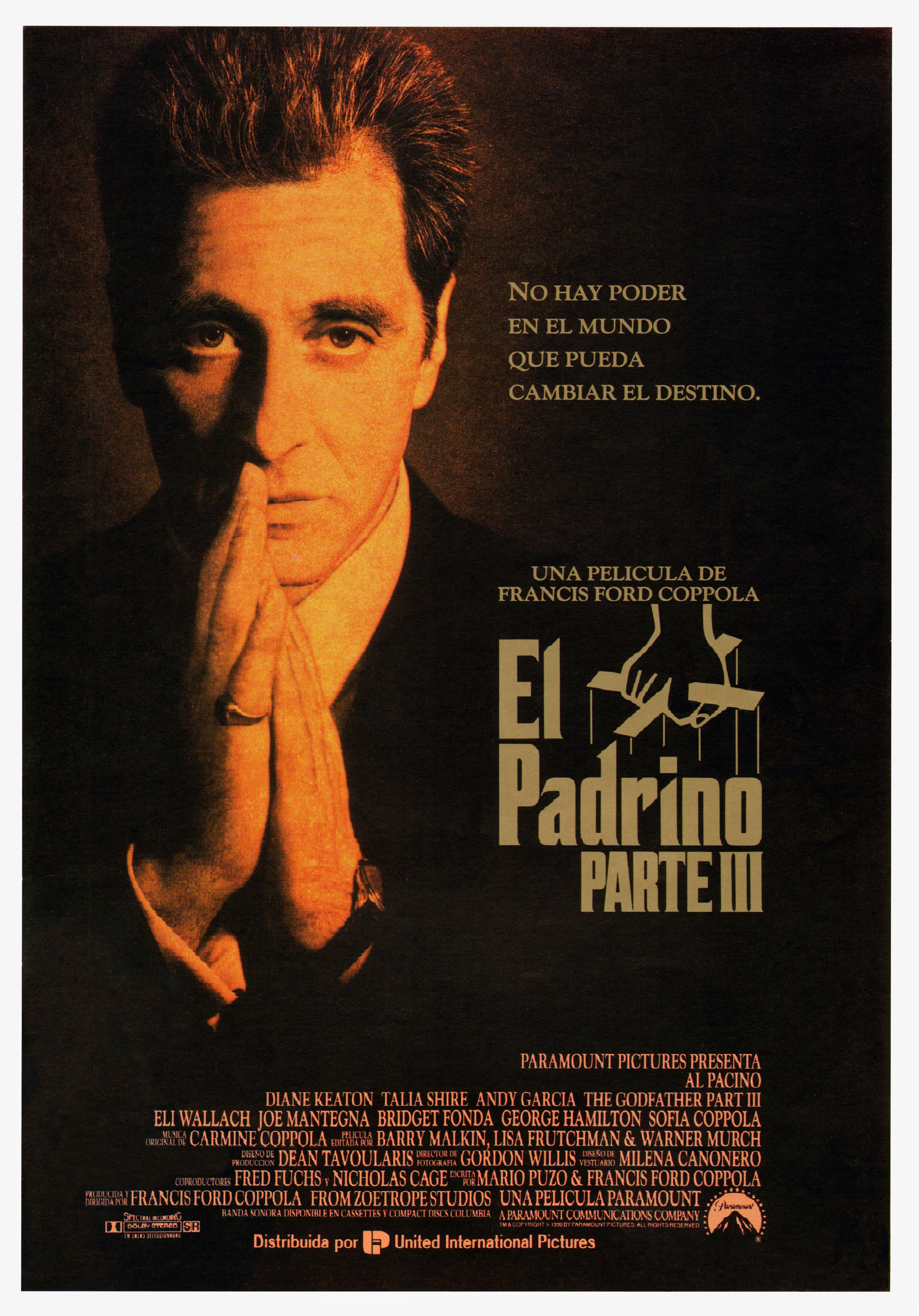 Cartel Español de El padrino III | Peliculas | Pinterest