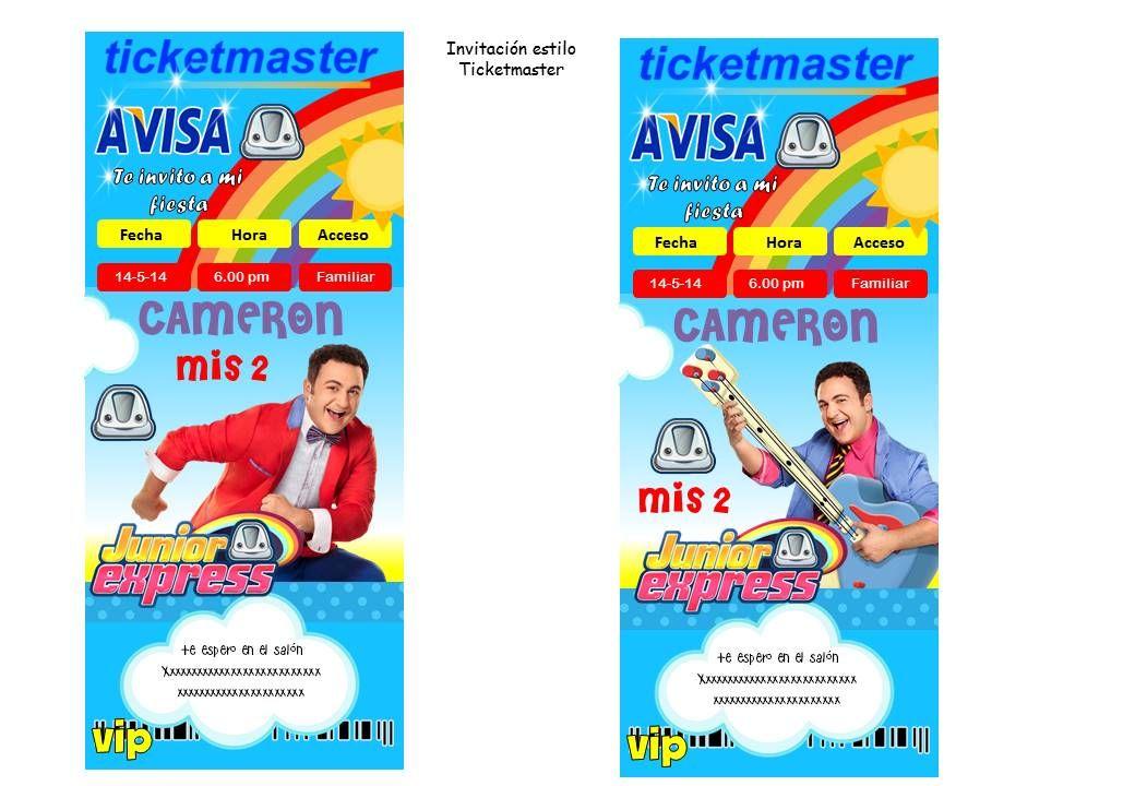 Pin En Fiesta De Jr Express