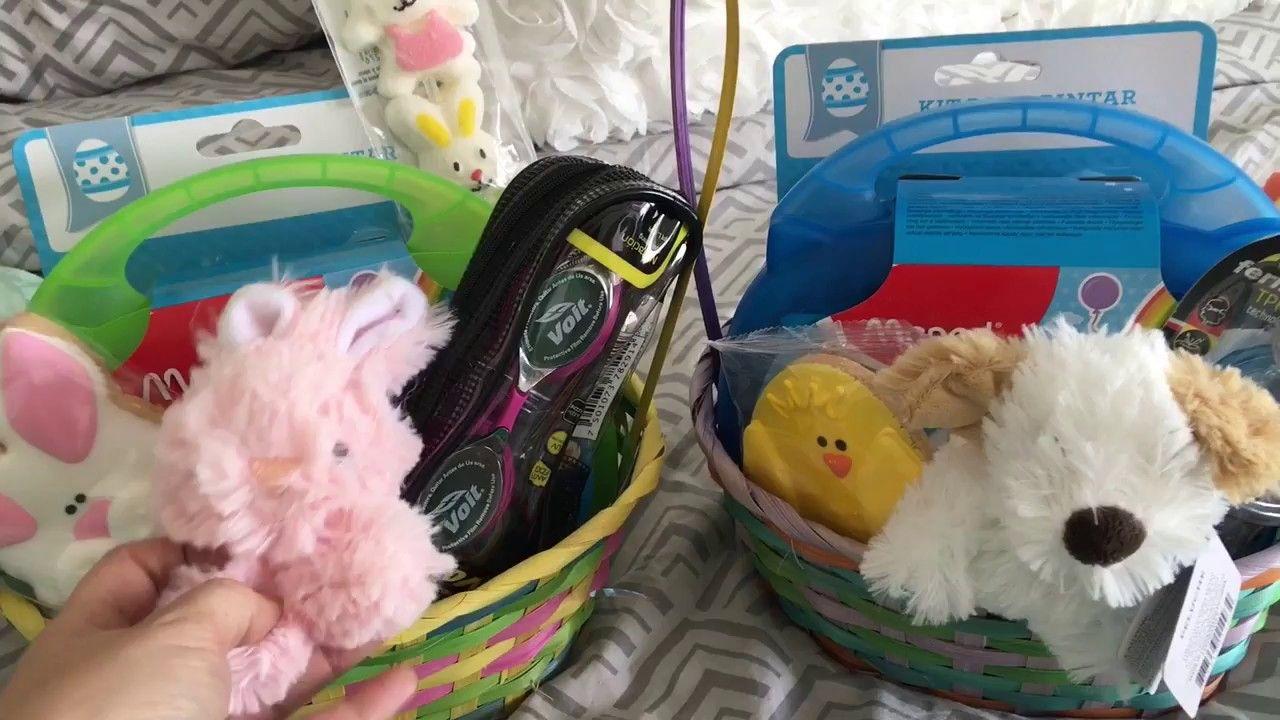 Easter Basket Ideas!