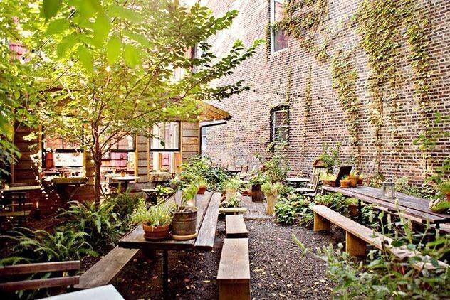 15 Outdoor Garden Restaurants Bars To Try In Nyc Restaurant