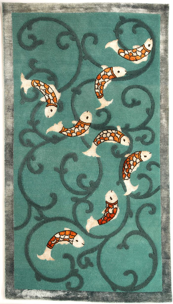 Koi Rug Designed By Dana Vladone For Clic Collection
