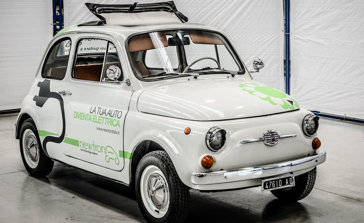 5cento 18 Electric Fiat 500