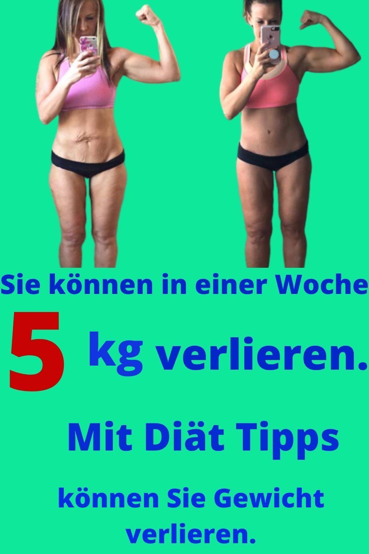 Wie kann ich 10 kg in einem Monat verlieren?