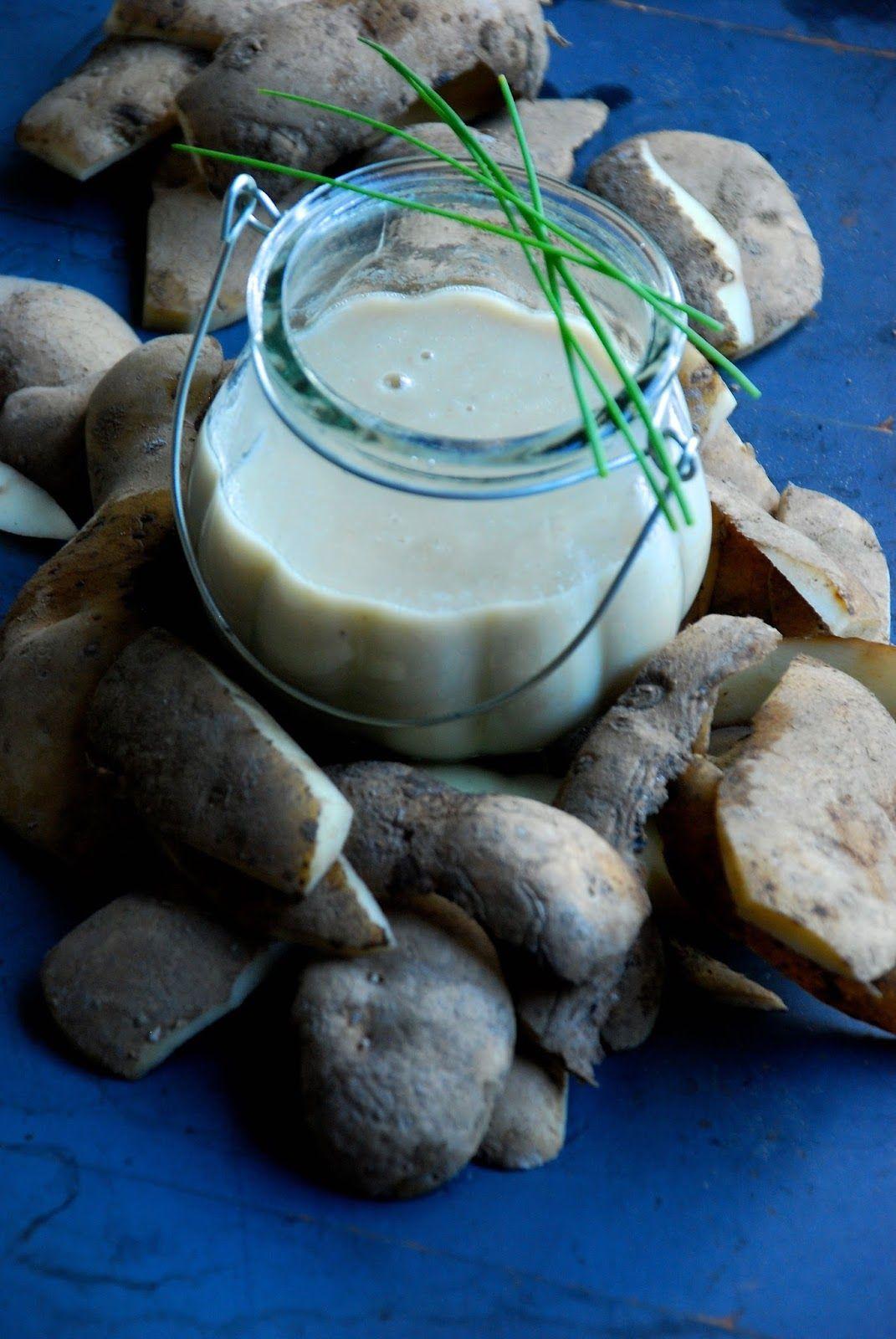 .: aardappel - za'atar soep met zure room