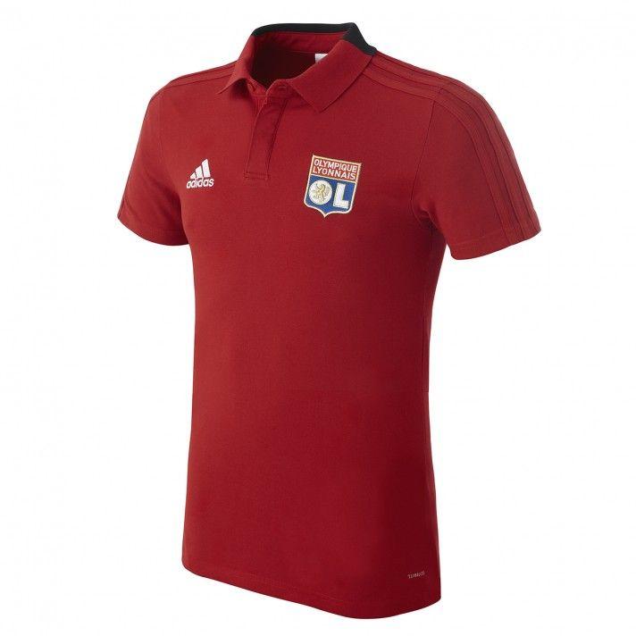 20182019 Produits Adidas Rouge Olympique Adulte Lyonnais Polo wxXHvqAOz