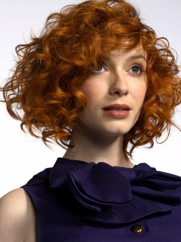 Christina Hendricks with Annie Clark/St. Vincent hair!? Best day ever.