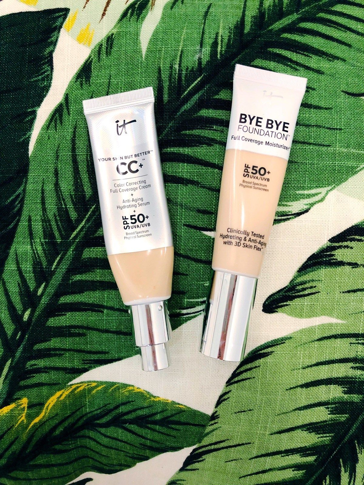 IT Cosmetics CC Cream and Bye Bye Foundation Review