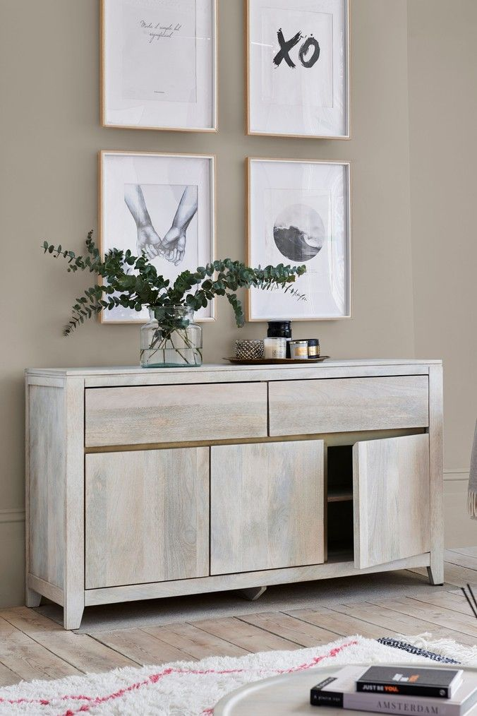 next amsterdam light sideboard  natural in 2021  wood