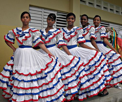 Traditional Dominican Dress