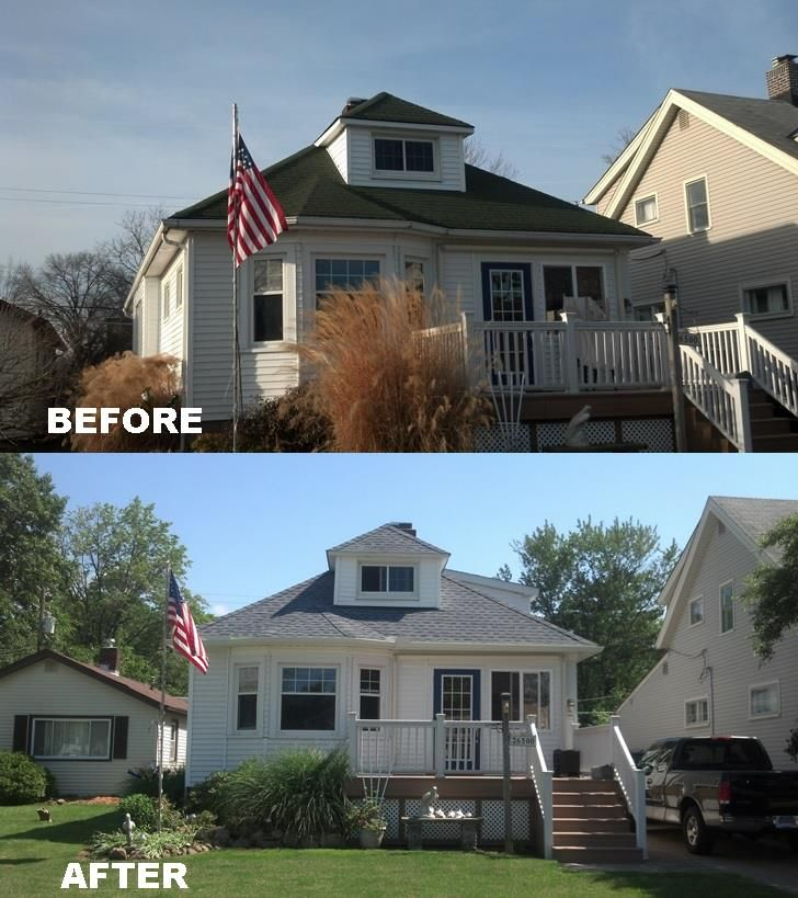 Certainteed American Legend Vinyl Siding Colonial White This Project Was Completed By Rjk Construction On Euclid Ohio Vinyl Siding Certainteed Siding