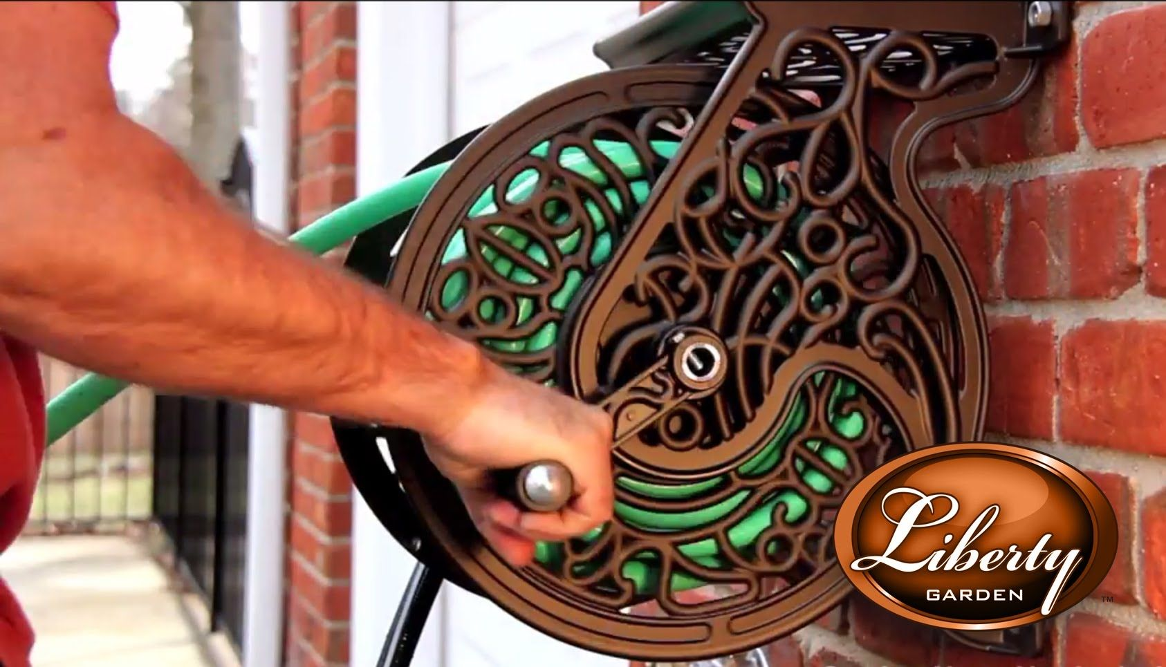 Charmant Liberty Garden Wall Mounted Hose Reels Are Elegant In Design And  Functionality. Watch The Video And See For Yourself!