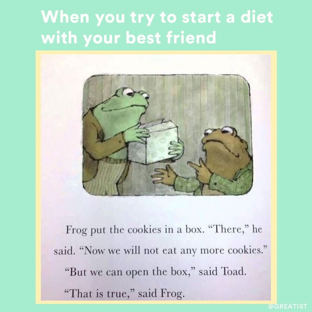 Frog And Toad Just Get Us Greatist Memes Meme