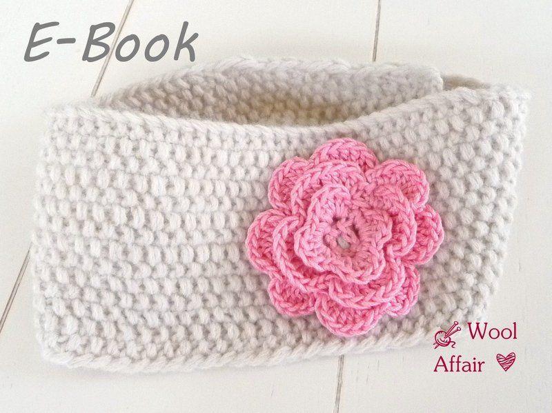 Strickanleitung Baby Stirnband Rüschenblüte (30) | Pinterest ...