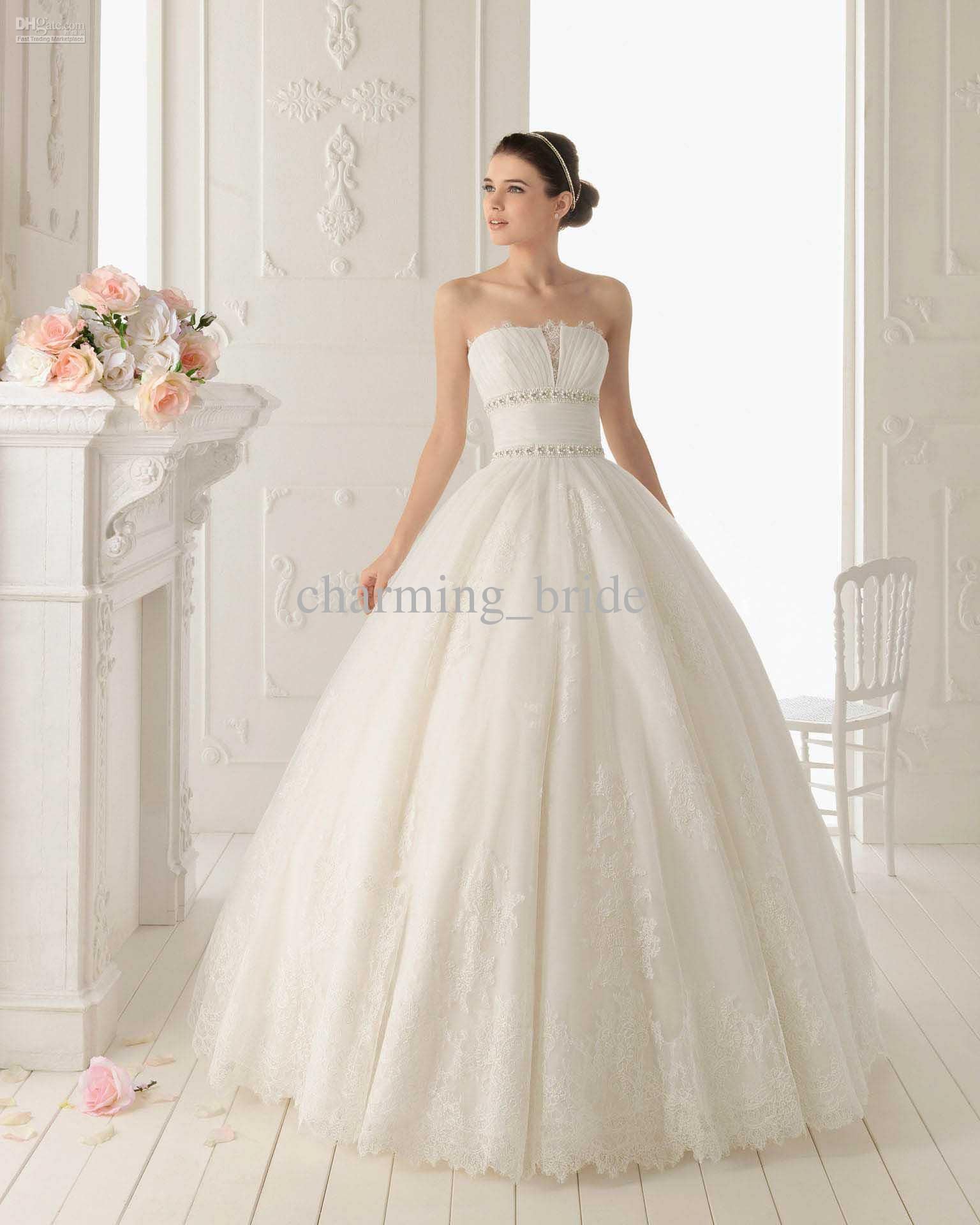 Cream Colored Ball Gown Style Wedding Dress <3 | Weddings ...
