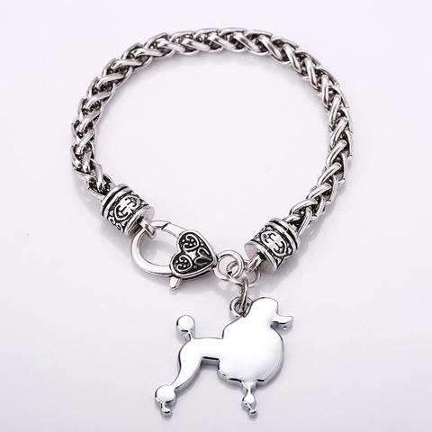Welsh Corgi Charm Bracelets For Women Dog Pendant Friendship
