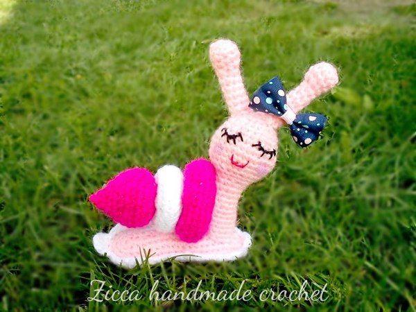 Make It: Snail - Free Crochet Pattern #crochet #amigurumi #free #ravelry