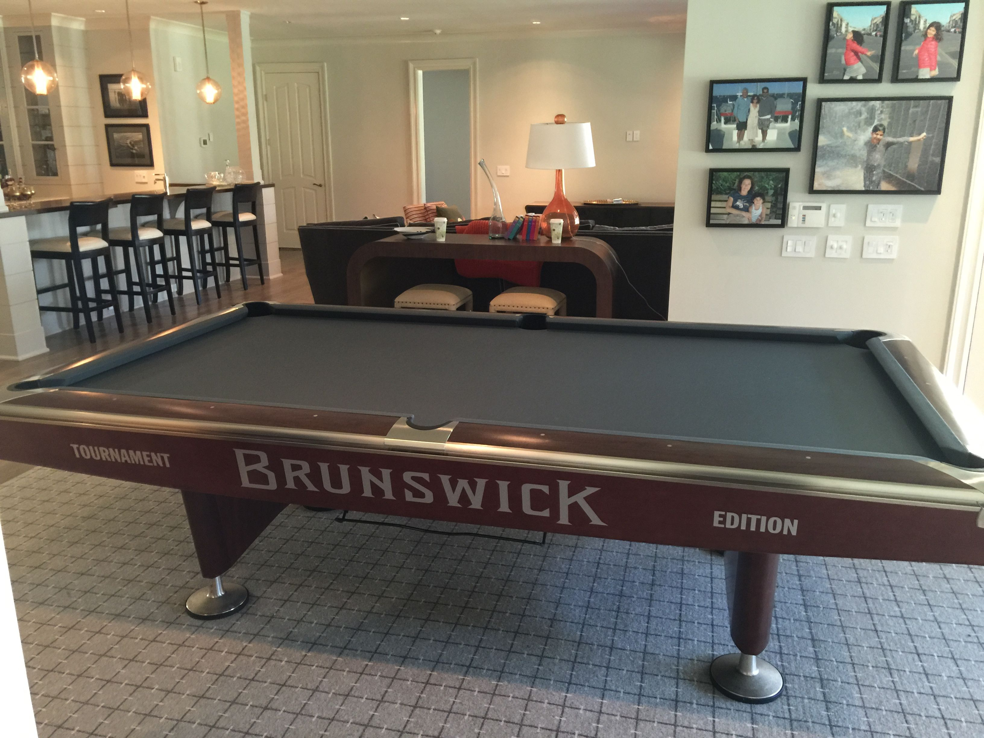 The Grandaddy Of All Commercial Pool Tables: The Brunswick Gold Crown 5 In  A Super