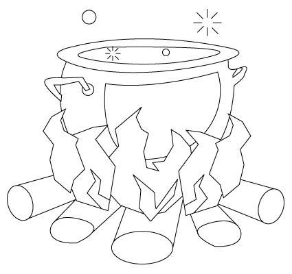 Cooking Pot Drawing Zeichnungen Bastelideen Basteln