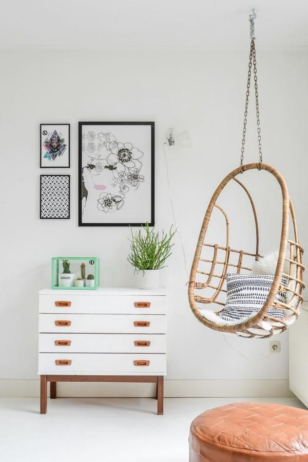My Favorite Things A Rattan Hanging Chair Interior Home Decor Decor