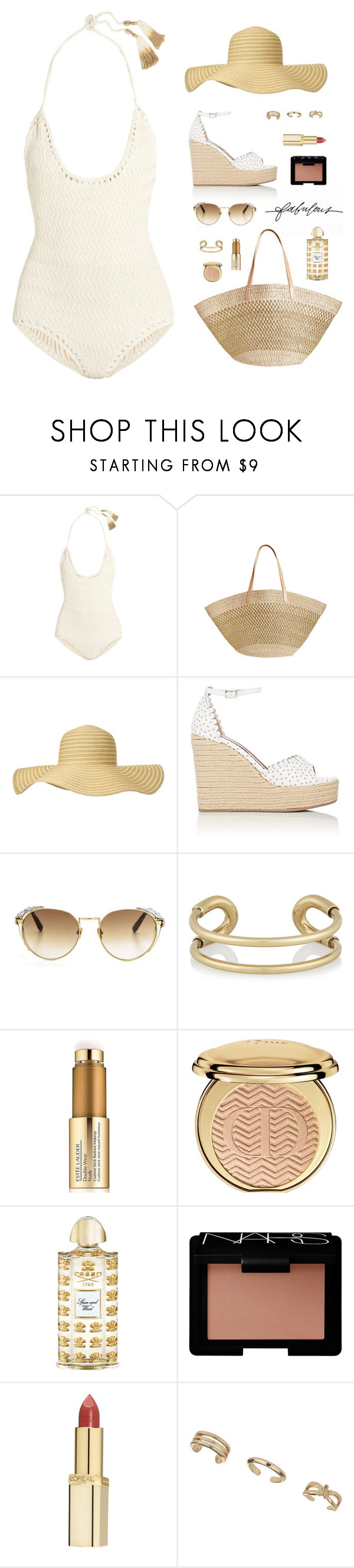 """""""""""The very least you can do in your life is figure out what you hope for. And the most you can do is live inside that hope. Not admire it from a distance but live right in it, under its roof."""" -Barbara Kingsolver"""" by are-you-with-me ❤ liked on Polyvore featuring Stella & Dot, SHE MADE ME, Flora Bella, Phase Eight, Tabitha Simmons, Linda Farrow, Giles & Brother, Estée Lauder, Christian Dior and Creed"""