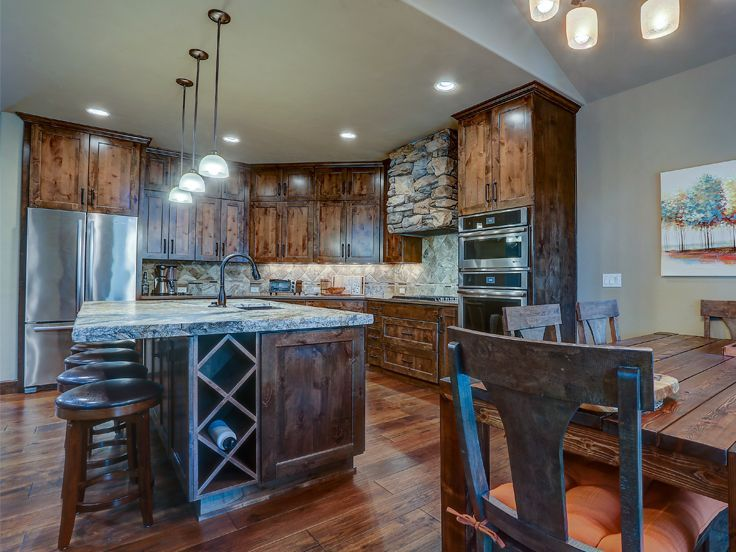 Kitchen Photo 3, 081H 0027   House plans, Modular home floor plans, Ranch house