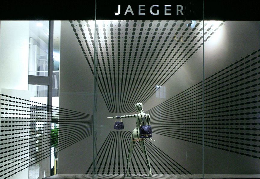 Jaeger promotional installations