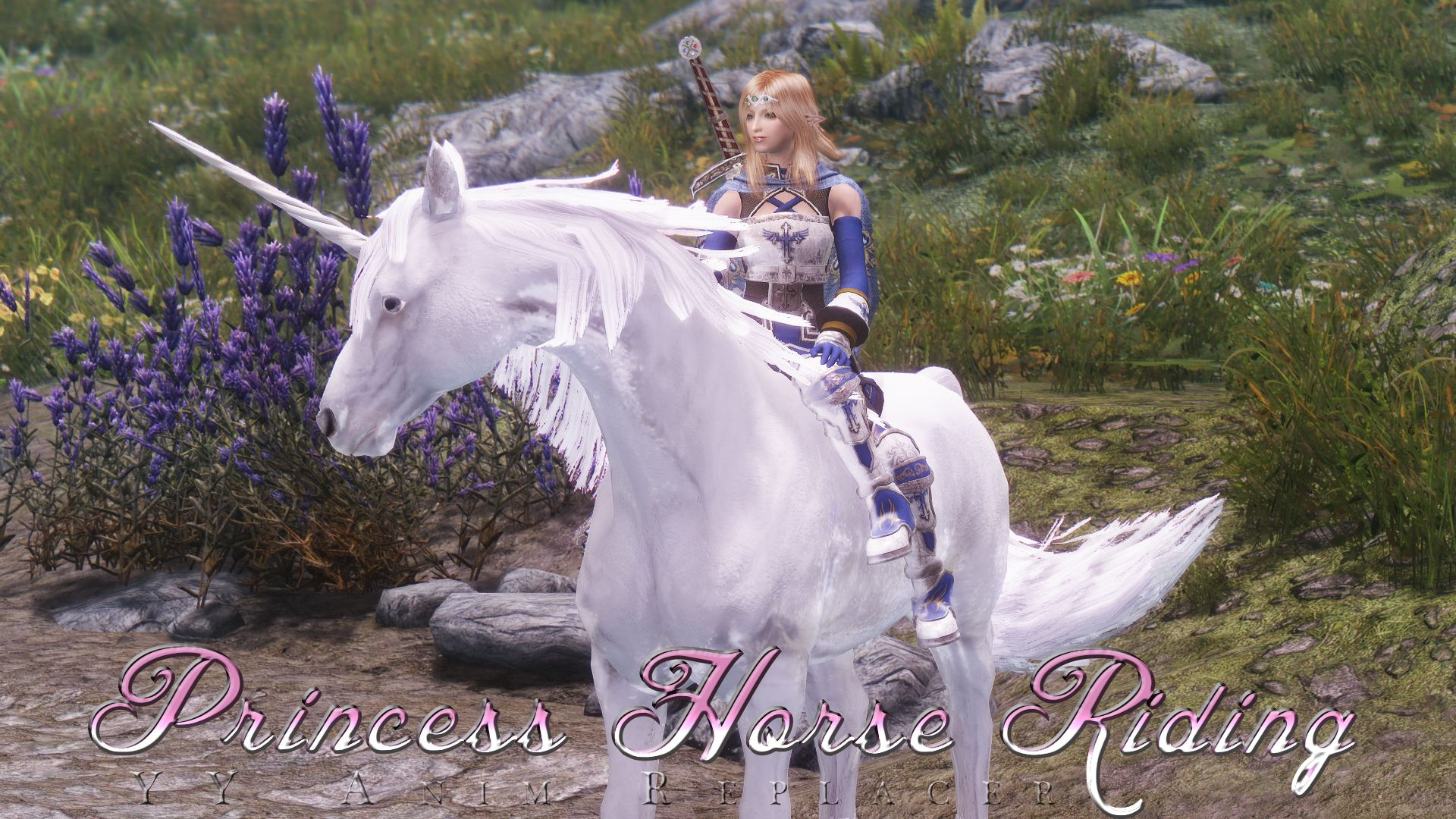 YY Anim Replacer - Princess Horse Riding by yukl @ nexusmods